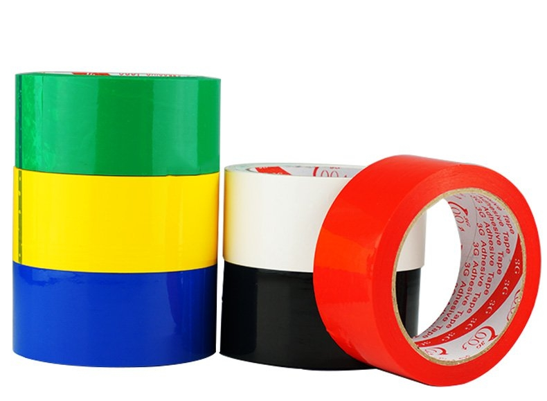 Red Blue Green White Yellow Black Color Adhesive Tape For RC Airplane Painting 45mmx40m
