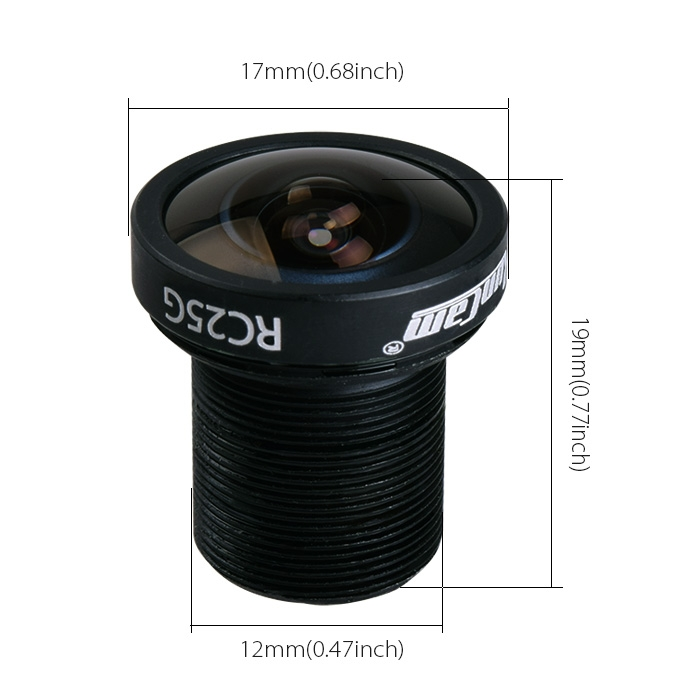 RunCam RC25G FPV Lens 2.5mm FOV 140 Degree Wide Angle for Swift Swift2 Mini PZ0420 SKY Gopro Hero2