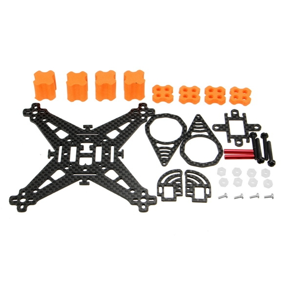 WX110 110mm X structure 1.5mm Brushless Carbon Fiber Frame Kit