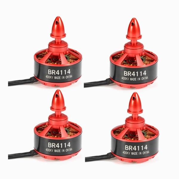 4X Racerstar Racing Edition 4114 BR4114 400KV 4-8S Brushless Motor For 600 650 700 800 RC Frame Kit