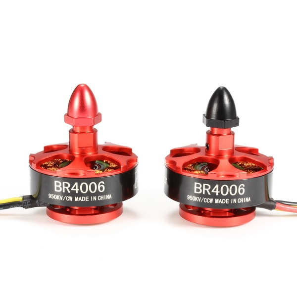 Racerstar Racing Edition 4006 BR4006 950KV 3-4S Brushless Motor For 600 650 700 800 RC Frame Kit