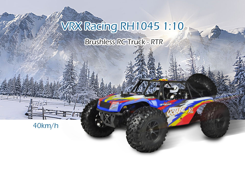 VRX Racing RH1045 1:10 Brushless RC Truck - RTR