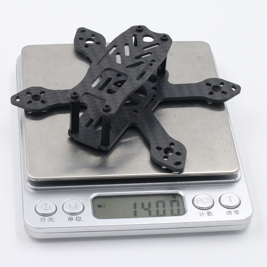 90L 90mm Brushless Micro FPV Racing Frame Carbon Fiber 14g