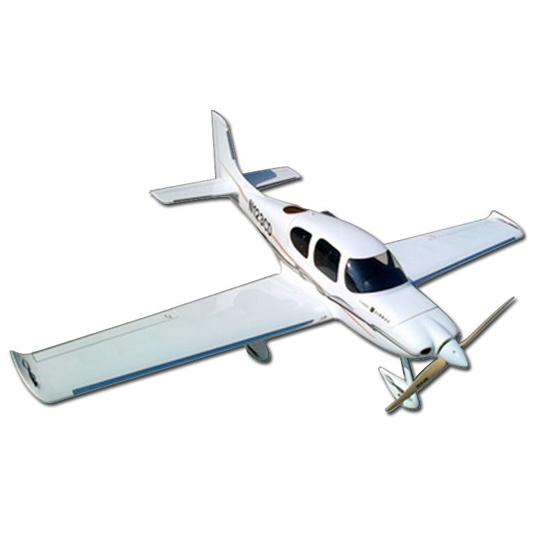 Cirrus SR22 1265mm Wingspan With FRP Fuselage Balsa Wood Wing Scale RC Airplane KIT