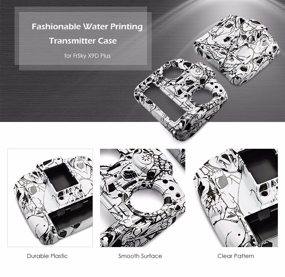 Fashionable Water Printing Transmitter Case