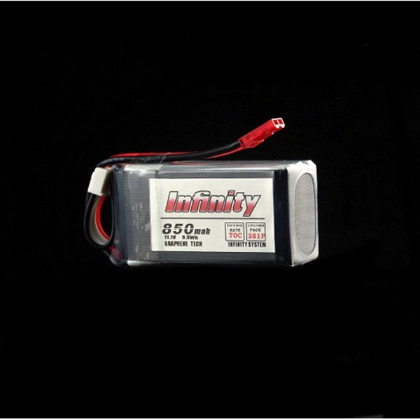 Infinity 850mAh 70C 3S1P Graphene Tech Lipo Battery for Racing Drone