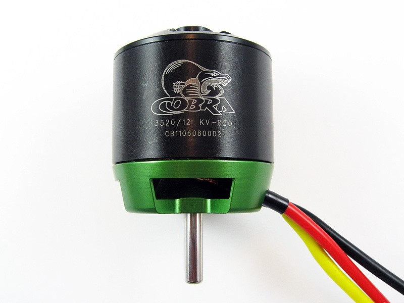 Cobra C3520/12 820KV 3-5S Brushless Outrunner Motor For RC Models