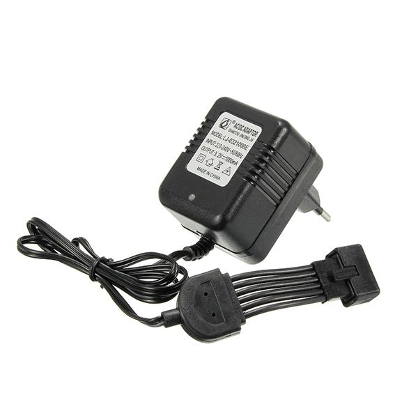New EU Plug Charger For 9115 RC Monster Truck AC DC Adaptor Spare RC Car Part