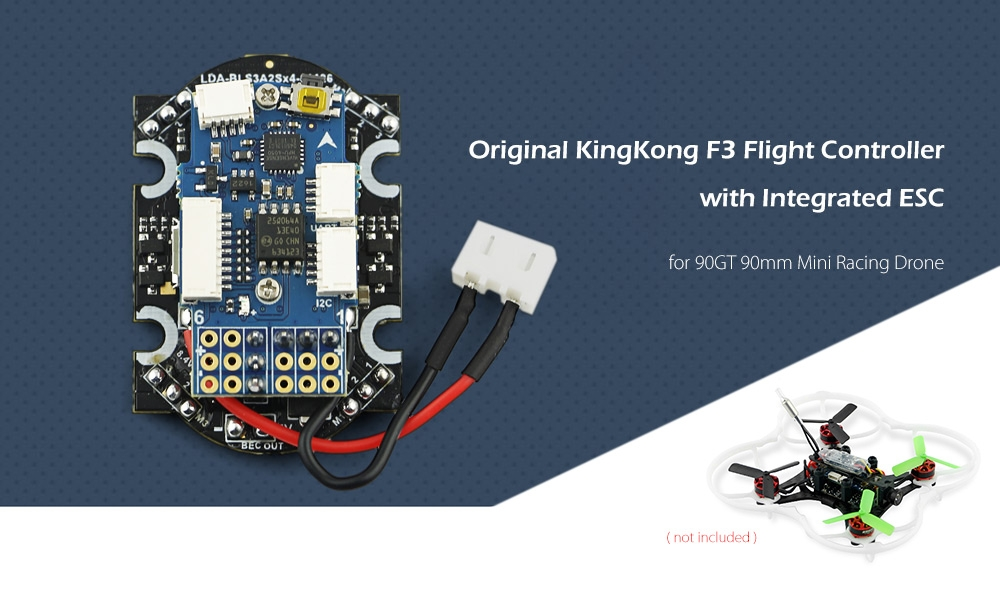 Original KingKong F3 Flight Controller with Integrated ESC