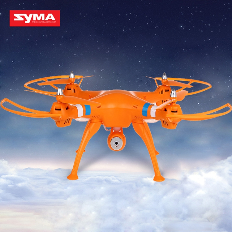 Newest Syma X8C Venture New Package 4 Channel 2.4G RC Quadcopter with HD Camera 6 Axis 3D Flip Fly UFO EU Plug