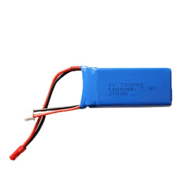 Spare V666 - 09 7.4V 1200mAh LiPo Battery Fitting for Wltoys V666 V666N V353 V353N Q212G RC Quadcopter