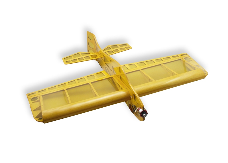 AEORC Sunday 610mm Wingspan Balsa Wood Laser Cut RC Airplane KIT