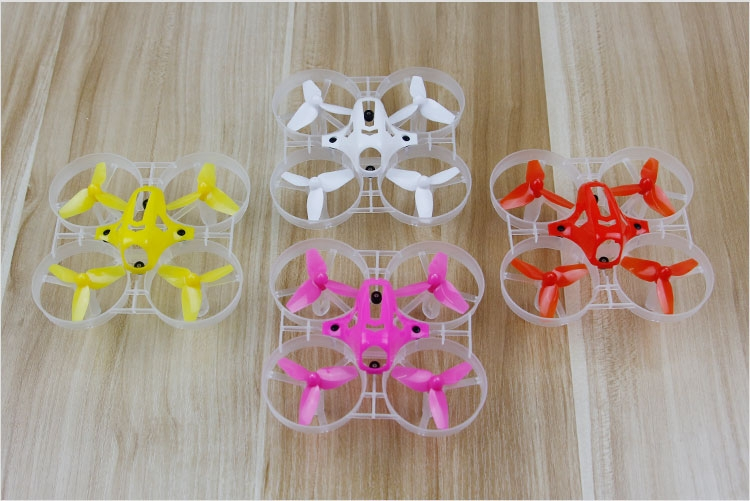 40mm Propellers 75mm Frame Kit Sets For Kingkong Tiny7 Tiny Whoop Racing Quadcopter