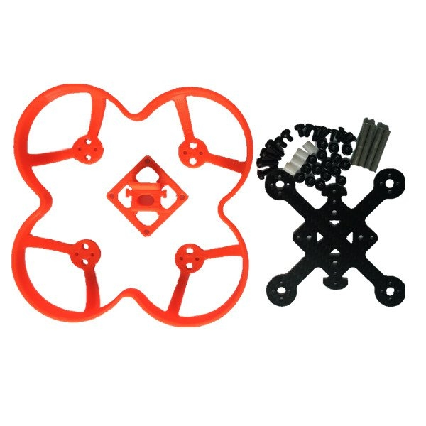 Realacc Orange85 FPV Racer Spare Part Racing Frame Kit with Aluminum Column Screws
