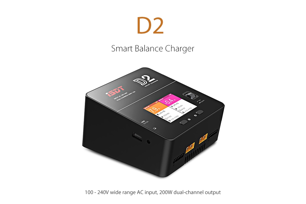 ISDT D2 200W Smart Balance Charger