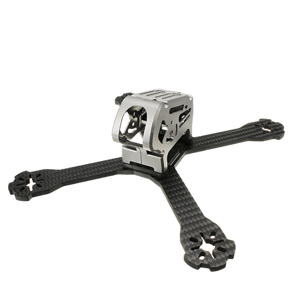 Realacc Stan200 200mm 4mm Arm Thickness Carbon Fiber Frame Kit for Multirotor