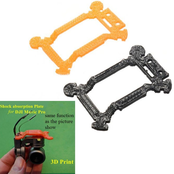 3D Printed Gimbal Vibration Shock Absorber Balance Board Plate Hollow Version for DJI Mavic Pro