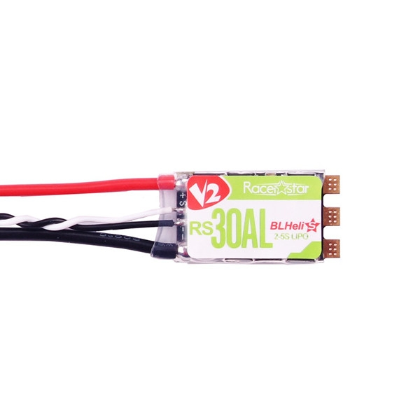 Racerstar RS30AL 30A Blheli_S BB2 2-5S Brushless ESC Built-in RGB LED for Racing Drone