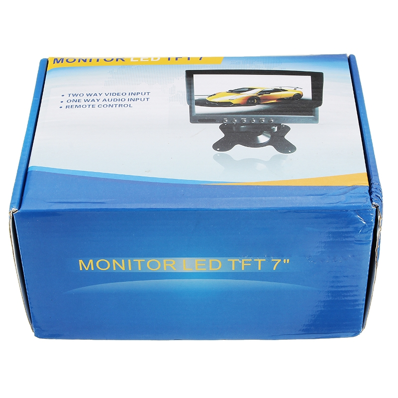 5.8G 40CH FPV Monitor 7 Inch 16:9 4:3 TFT Display Auto Search Build in Battery