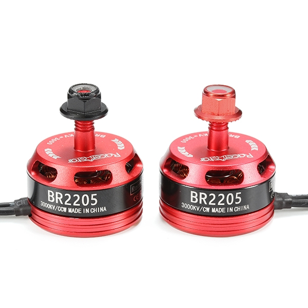 4X Racerstar Racing Edition 2205 BR2205 3000KV 2-4S Brushless Motor For X210 X220 250 260 FPV Racer