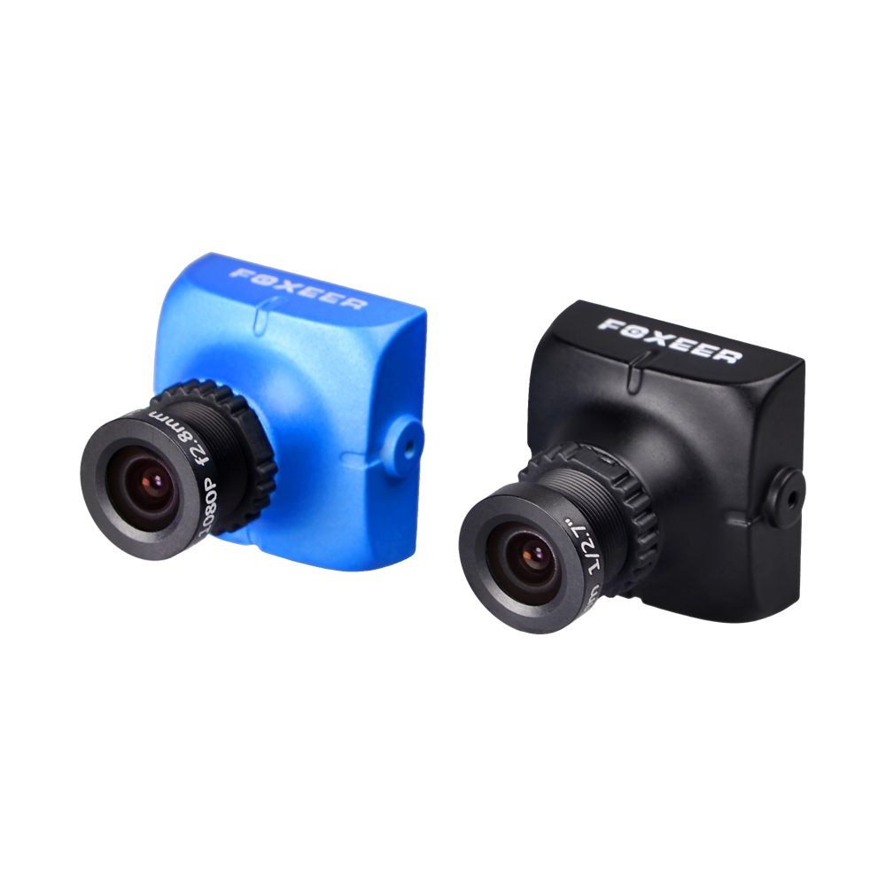 Foxeer HS1177 V2 600TVL CCD 2.5mm/2.8mm PAL/NTSC IR Blocked Mini FPV Camera 5-40V w/ Bracket