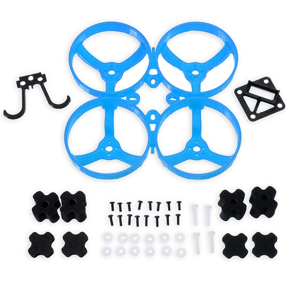 DK80 80mm Frame Kit Support 1102 1103 Motor