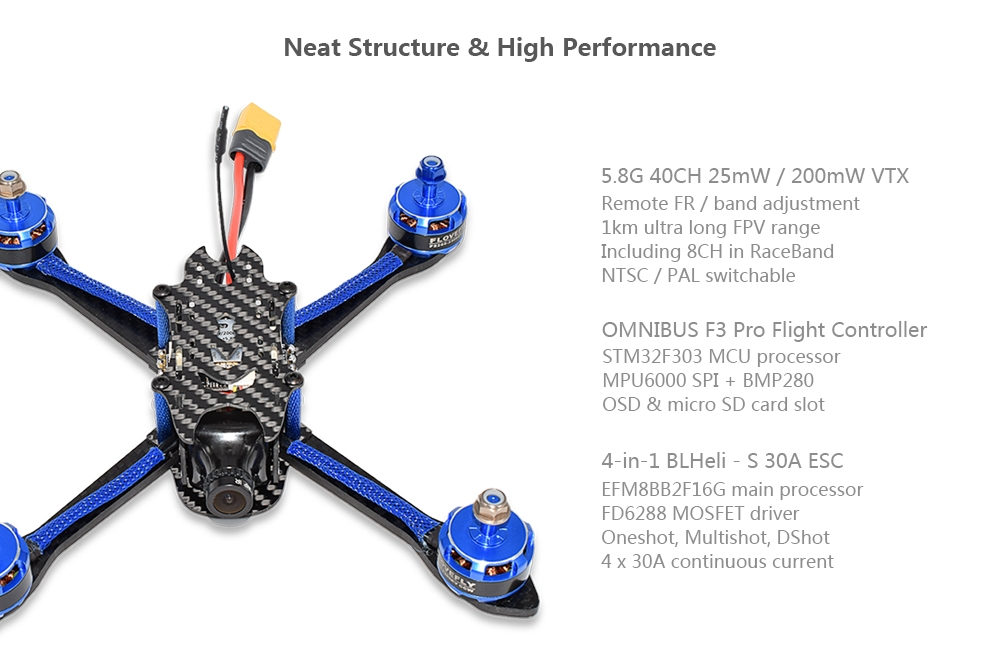 BFlight 210 210mm Brushless FPV Racing Drone