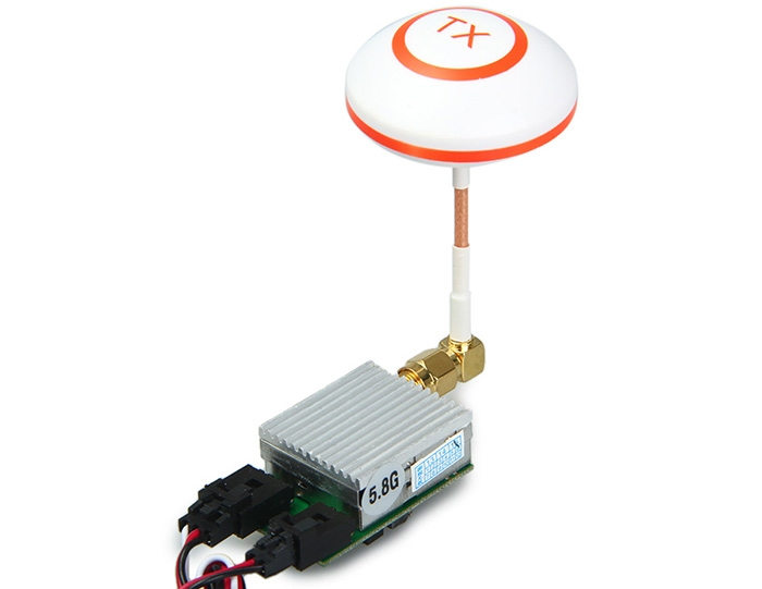 Extra 5.8GHz Receiver Set with Mushroom Antenna for FLYING 3D X8 7 inch FPV Transmitter