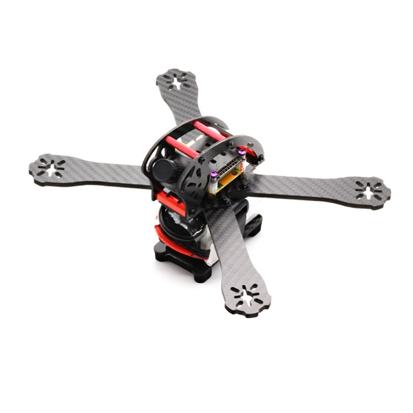 220mm 3K Carbon Fiber Racing Frame Kit 4mm Arm with PDB Board