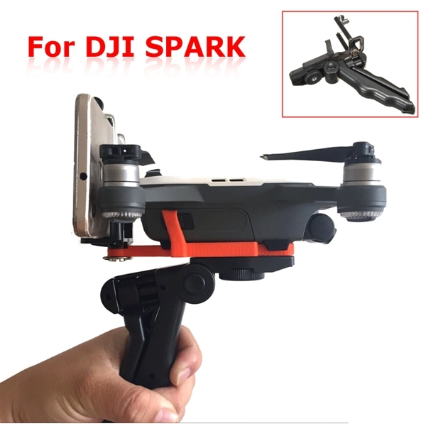 Portable Shooting Holder Bracket Handheld Handle Stabilizer Support For DJI Spark Drone