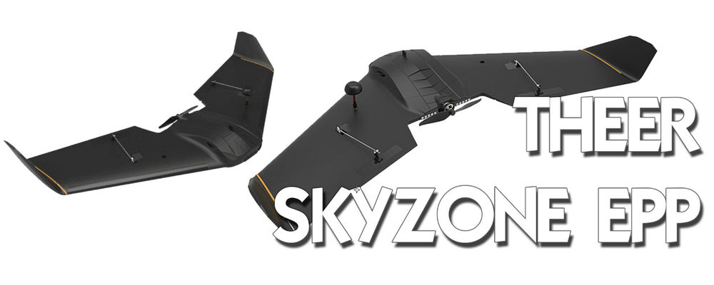THEER - Skyzone EPP race wing at 860mm
