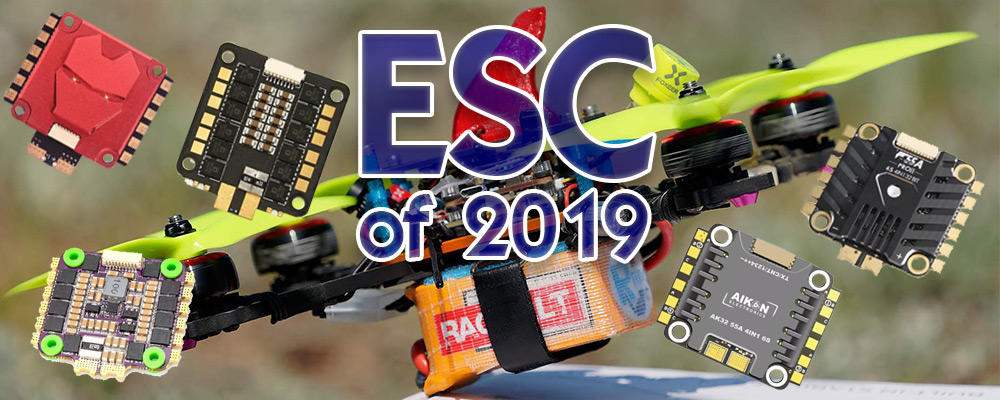 5 best Drone racer 4 in 1 ESC for 6S of 2019