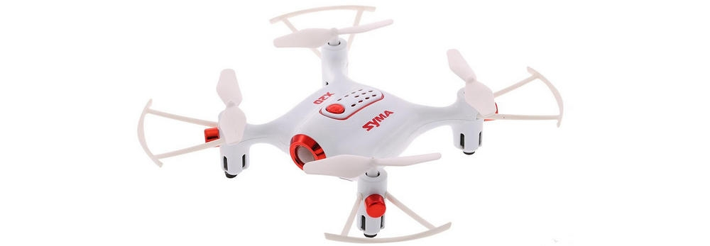 Syma X20 - indoor and outdoor quadcopter for learning how to fly
